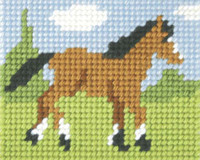 Foal Needlepoint Kit By Orchidea