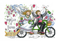 Wedding Ride Cross stitch Chart By Ursula Michael