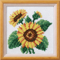 Sunflowers garden posies Cross Stitch Kit by Orchidea