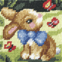 My First Embroidery Needlepoint Kit Springtime by Orchidea