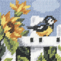My First Embroidery Needlepoint kit Summertime By Orchidea