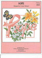 Hope Cross Stitch Chart by Ursula Michael