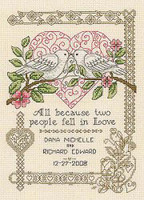 All Because Cross Stitch chart By Dianne Arthurs