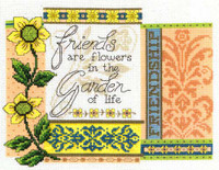 Garden of Life Cross Stitch Chart by Dianne Arthurs
