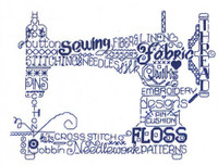 Lets Sew Cross Stitch chart By Ursula Michael