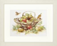 Counted Cross Stitch Kit: Summer Fruit By Lanarte