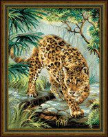 Owner of the Jungle Cross Stitch Kit by Riolis