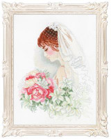 Bride Cross Stitch Kit by Riolis