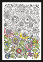 Zenbroidery - Floral Cotton Fabric