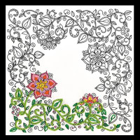 Zenbroidery - Garden Cotton Fabric