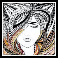Zenbroidery - Woman Cotton Fabric
