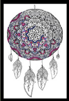 Zenbroidery - Dreamcatcher Cotton Fabric