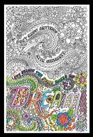 Zenbroidery - Dream Cotton Fabric