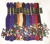 Zenbroidery Jewel Tones Trim Pack