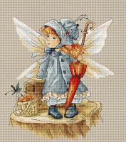 Picnic Fairy Cross Stitch Kit by Luca-S