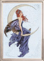 Blue Moon Cross Stitch Kit by Design Works