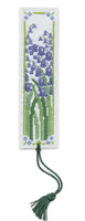 Bluebell Bookmark Cross Stitch Kit by Textile Heritage