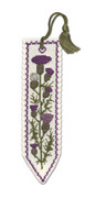 Scottish Thistle Bookmark Cross Stitch Kit by Textile Heritage