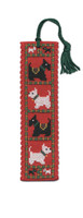 Scotties & Westies Bookmark Cross Stitch Kit by Textile Heritage