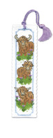 Wee Hieland Coo Bookmark Cross Stitch Kit by Textile Heritage