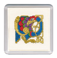 Celtic Bird Coaster Cross Stitch Kit by Textile Heritage