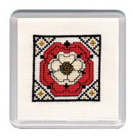 Tudor Rose Textile Heritage Collection Cross Stitch Bookmark Kit