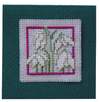Snowdrops Keepsake Cross Stitch Kit by Textile Heritage