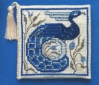 Arts and Crafts Needle Case Cross Stitch Kit by Textile Heritage
