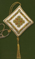 Celtic Knot Scissor Keep Cross Stitch Kit by Textile Heritage