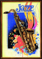Jazz Cross Stitch Kit by Riolis
