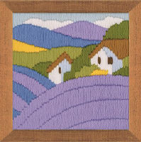Lavender Long Stitch Kit by Riolis