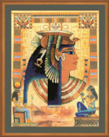 Cleopatra Cross Stitch Kit by Riolis