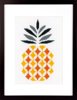 Pineapple cross Stitch Kit By Vervaco