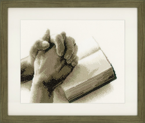 Praying Hands Cross Stitch Kit By Vervaco