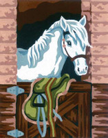 Stable Horse Canvas only By Grafitec