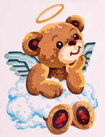 Teddy Angel Canvas only By Grafitec