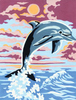 Dolphin Canvas only By Grafitec
