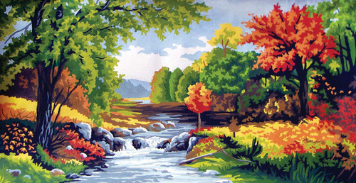 Autumn Canvas only By Grafitec