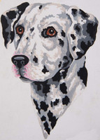 Dalmatian Canvas only By Grafitec