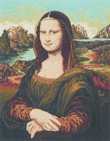 Mona Lisa Canvas only By Grafitec