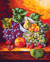 Still Life Fruit Canvas only By Grafitec