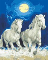 Moonlight Gallop Canvas only By Grafitec
