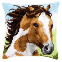 Fiery Stallion  Cross Stitch Kit By Vervaco