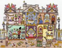 Cut' Thru Buckingham Palace By Bothy Threads