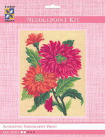Orange Daisies  Tapestry Kit By Grafitec