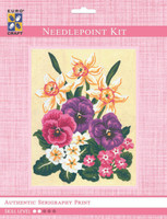 Daffodils & Pansies  Tapestry Kit By Grafitec