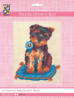 Prize Winning Terrier  Tapestry Kit By Grafitec