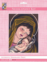 Madonna & Child I  Tapestry Kit By Grafitec