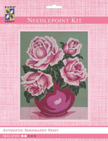 Romantic Rose Bouquet  Tapestry Kit By Grafitec