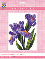 Irises  Tapestry Kit By Grafitec